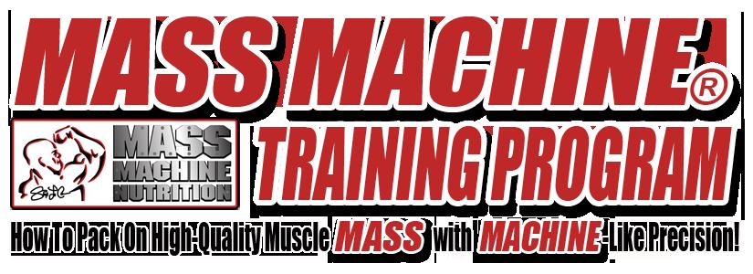 mmt banner Mass Machine Training Routine #1