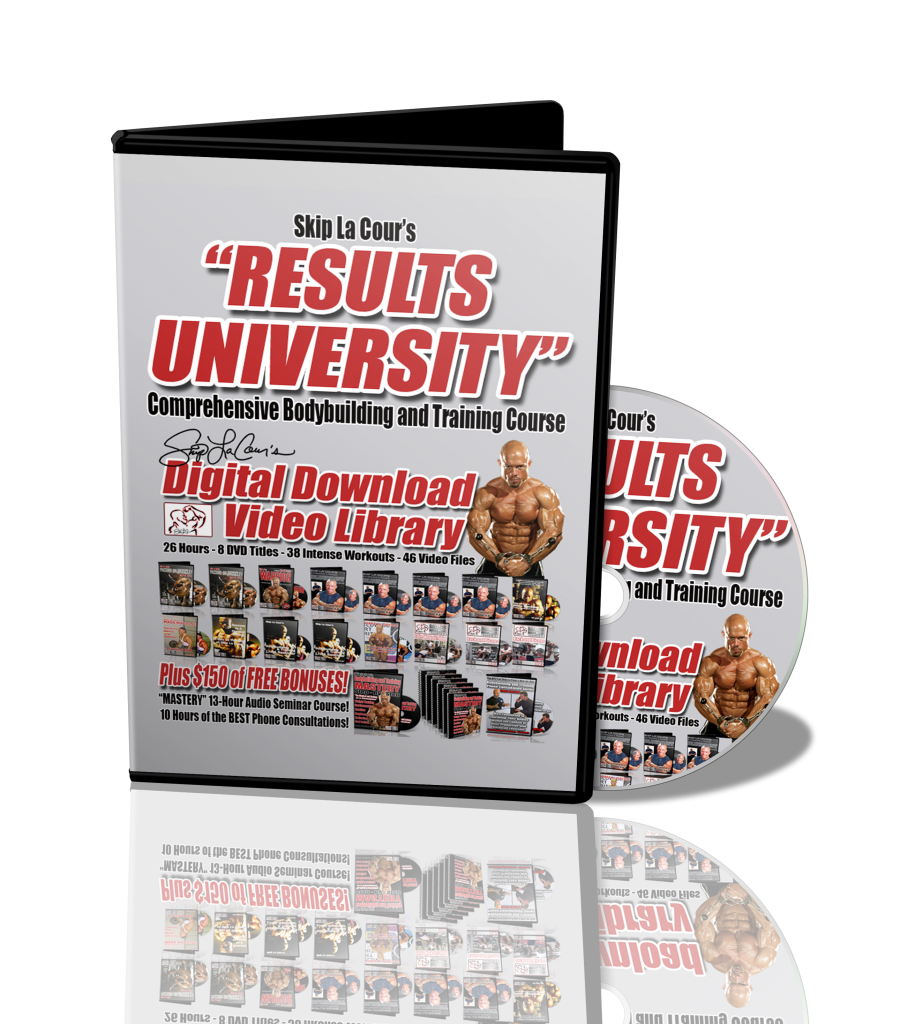 RUaudio 908x1024 Skip La Cours Results University Comprehensive Bodybuilding and Training Course