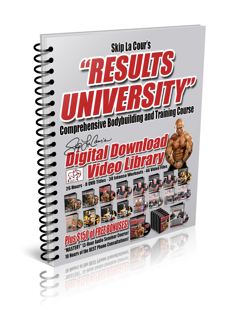 RUbook1 763x1024 Skip La Cours Results University Comprehensive Bodybuilding and Training Course