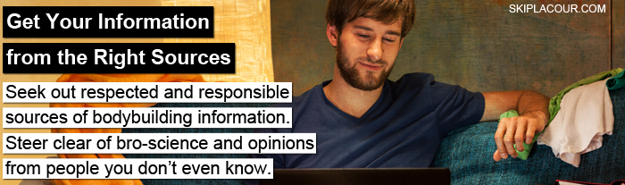 """Get Your Information from the Right Sources Next Level Advice From The """"Buff Dad You Never Had"""""""