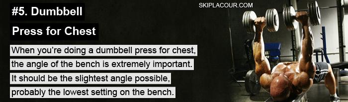 Dumbbell Press for Chest Expert Tips For Next Level Training: Part 2