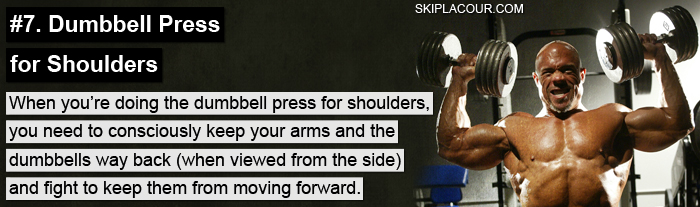 Dumbbell Press for Shoulders Expert Tips For Next Level Training: Part 2