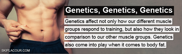 Genetics The TRUTH About Bringing Up Lagging Body Parts