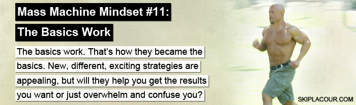 Mass Machine Mindset 11 The Basics Work Top 15 Ways To Create The Mindset That Gets Awesome Results