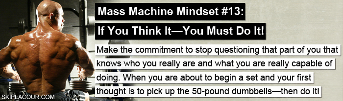 Mass Machine Mindset 13 Top 15 Ways To Create The Mindset That Gets Awesome Results