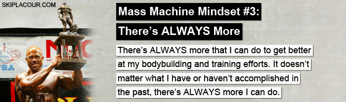 Mass Machine Mindset 3 Top 15 Ways To Create The Mindset That Gets Awesome Results