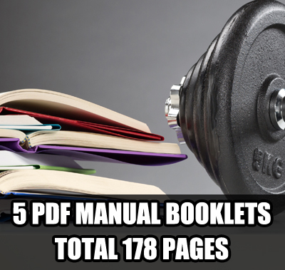 manual booklets ULTIMATE Bodybuilding Contest Preparation Audio Seminar Course
