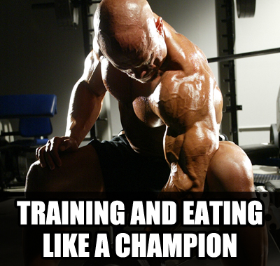 training and eating ULTIMATE Bodybuilding Contest Preparation Audio Seminar Course