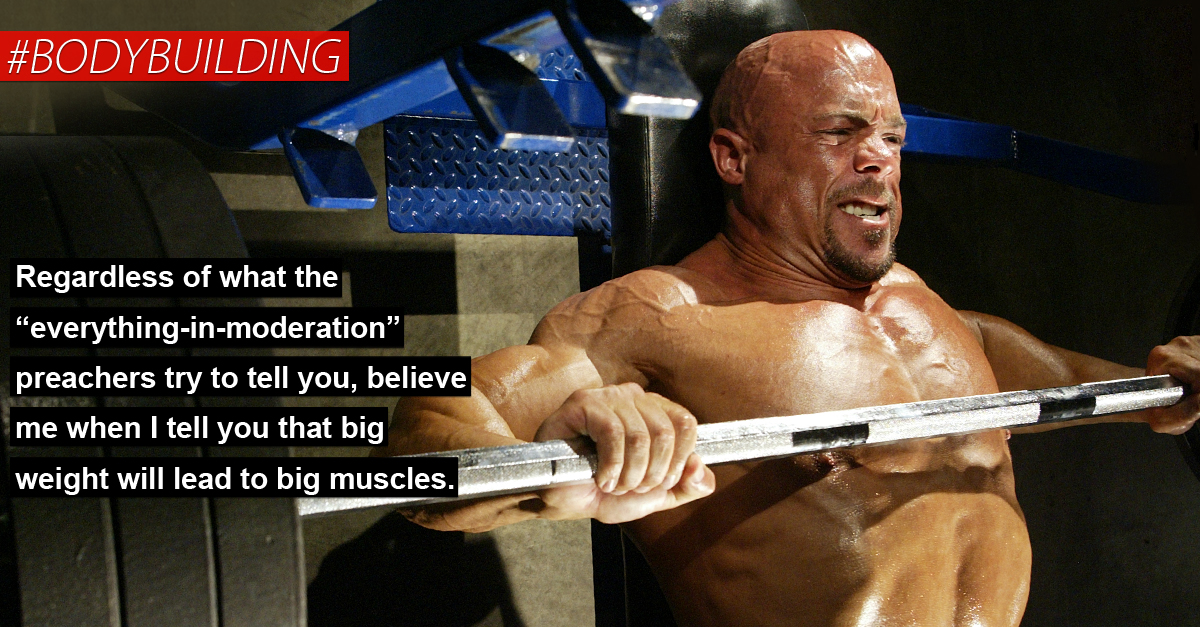 use heavy weight for the most muscle in the shortest period of, Muscles