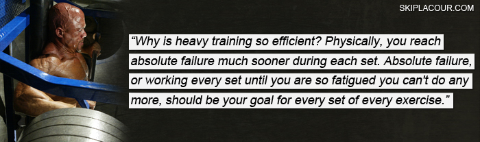 Why Is Heavy Training So Efficient Use Heavy Weight For The Most Muscle In The Shortest Period Of Time