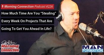 "How Much Time Are You ""Stealing"" Every Week On Projects That Are Going To Get  You Ahead In Life?"