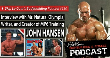 Interview With Mr. Natural Olympia and Writer JOHN HANSEN - #330