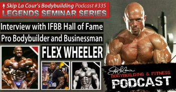 Interview With IFBB Hall of Fame Pro Bodybuilder FLEX WHEELER