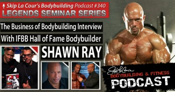 The Business of Bodybuilding Interview With IFBB all of Fame Bodybuilder SHAWN RAY - Bodybuilding and Fitness Podcast #3400
