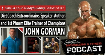 Interview with Diet Coach, Speaker, Author, and 1st Phorm Trainer JOHN GORMAN