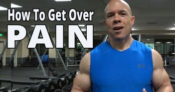 how to get over pain