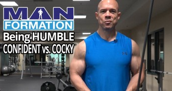 Being Humble and Confident Vs. Cocky – MANformation Minute