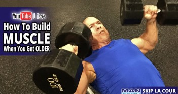 How to Build Muscle When You Get Older