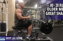 How to Get in Shape When You Are Older – How the 80 – 20 Rule Helps Older Men Get in Shape