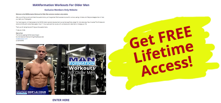 MANformation Workouts For Older Men
