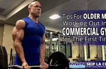 Tips For Older Men Working Out In A Commercial Gym For The First Time