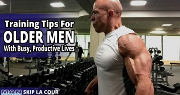 Training Tips for Older Men with Busy, Productive Lives