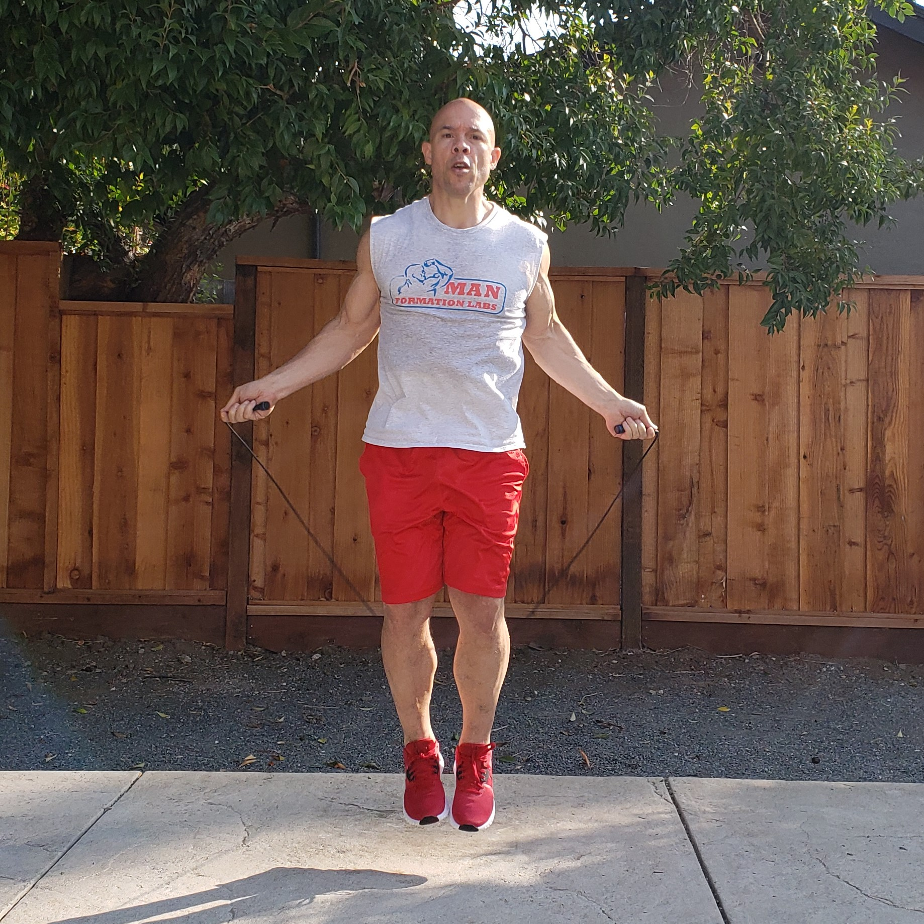 1 jump rope 15 x 15 x 15 Workouts For Older Men HOME Gym Workout #4