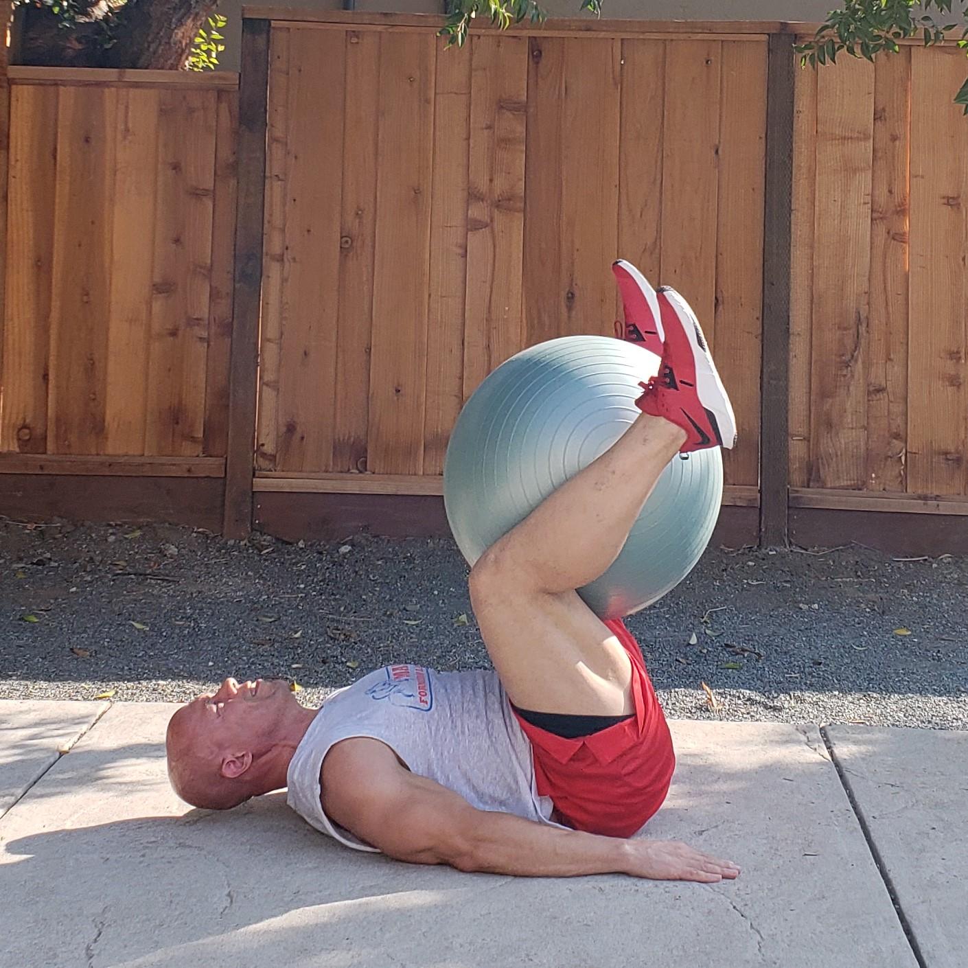 12 leg raises 15 x 15 x 15 Workouts For Older Men HOME Gym Workout #4