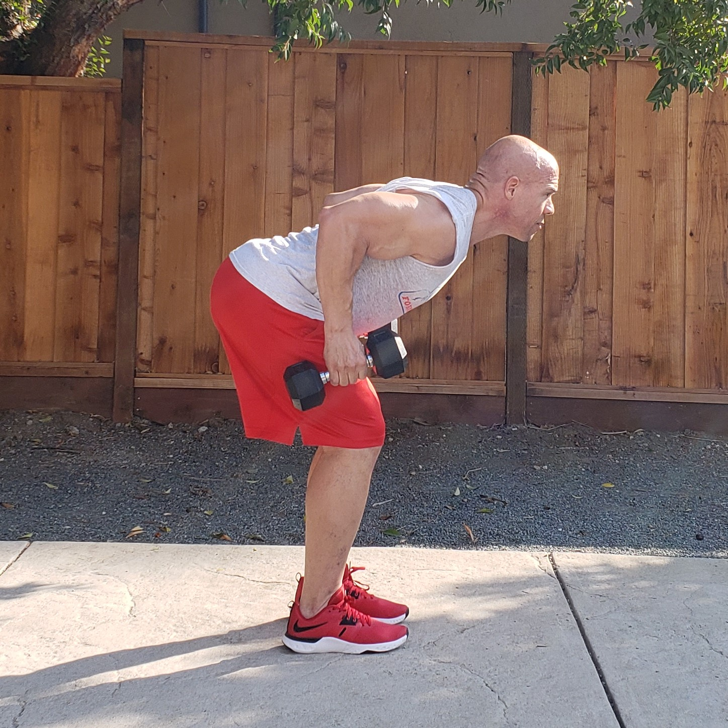 6 row deadlift 15 x 15 x 15 Workouts For Older Men HOME Gym Workout #4