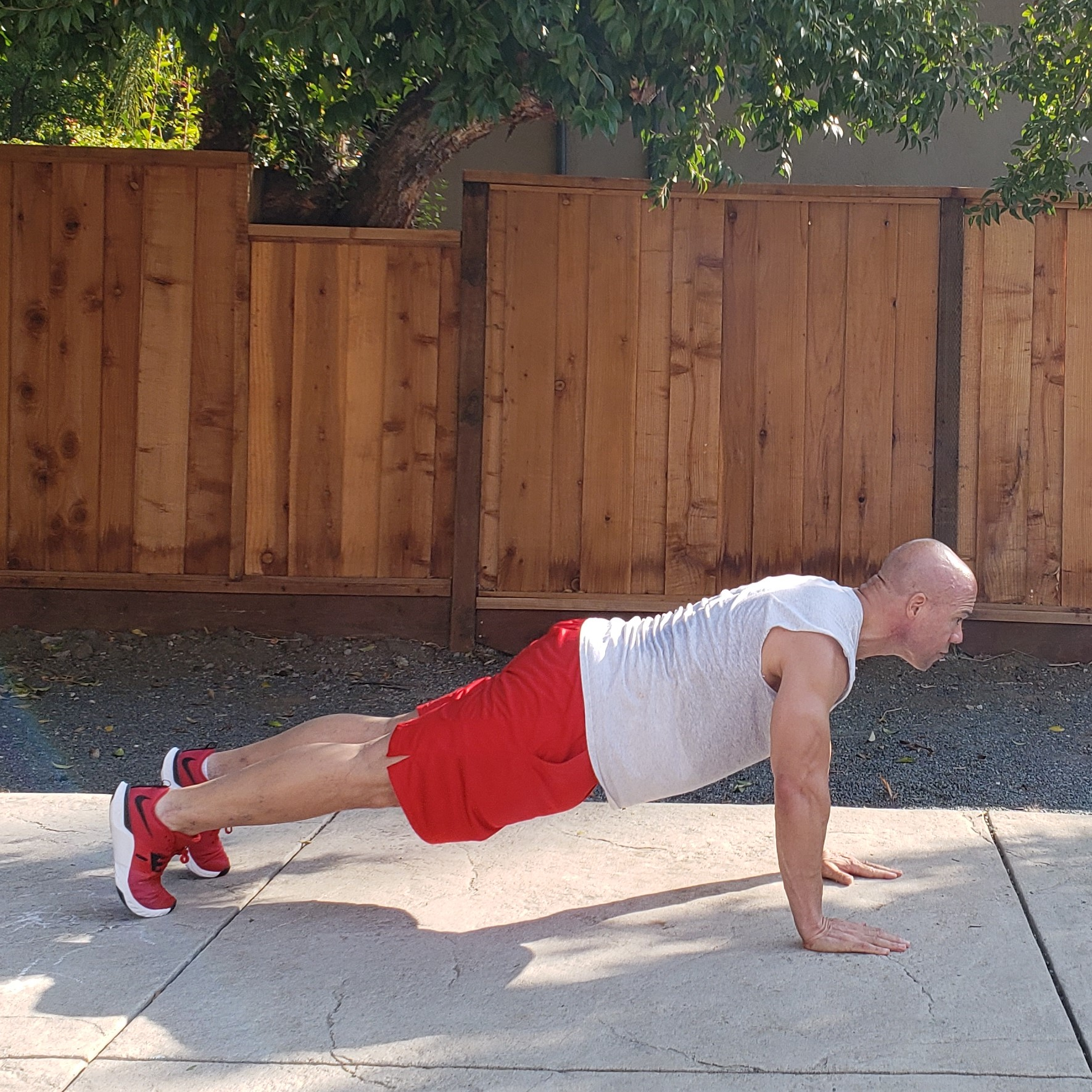 7 pushups 15 x 15 x 15 Workouts For Older Men HOME Gym Workout #4